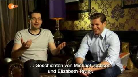 Allen Leech and Rob James Collier Interview im ZDF