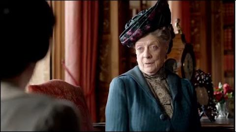 The Dowager Countess' Finest Burns on Downton Abbey