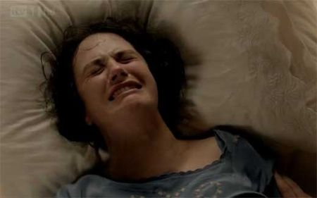 Downton Abbey Lady Sybil Moments Before Her Death