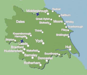 Image  Yorkshire Map1jpg  Downton Abbey Wiki  FANDOM powered