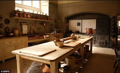 Downton kitchen
