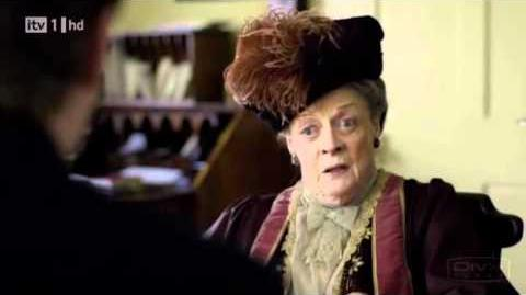 The Dowager Countess of Grantham vs. Swivel Chair