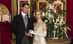Downton-rose-atticus-wedding