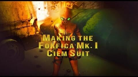 Ciem Ash Cloud The Making of the Forfica Mk I Suit for Lee Loo La's 34th Birthday