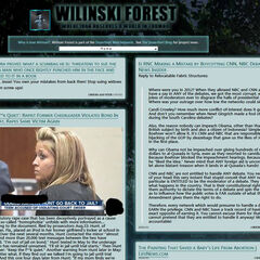 Screenshot of Wilinski Forest on August 17th of 2013, after updating the interface to two columns.