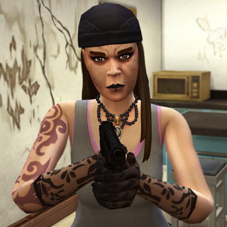 Astirnah, human gangster disguise.