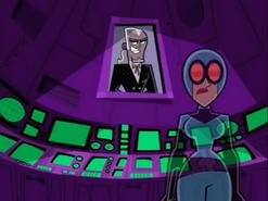 S03M04 Maddie hologram and Vlad portrait