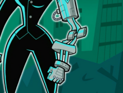 S02e01 Terminatra transforming her arm