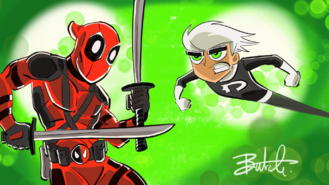 Crossover - Danny vs Deadpool