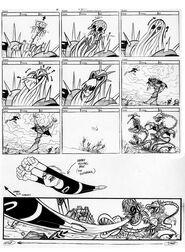 S03e06 Urban Jungle storyboard 4