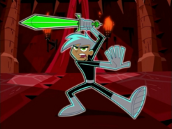 S01e13 Danny with the sword