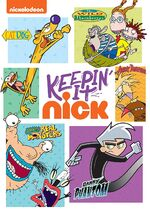 Keepin' It Nick DVD cover