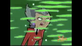 S01e09 peeling Spectra gray hair