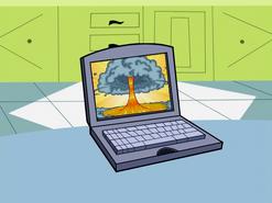 S01e19 simulation on laptop
