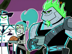 S02e10 Ember and Skulker at Christmas party