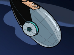 S02e03 Blimp with shield