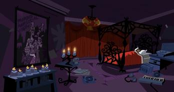 S01e20 Sam's room wideshot