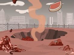 S01e01 Danny creates a hole