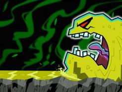 S03e02 River of Revulsion monster