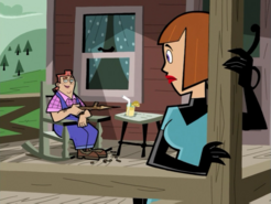 S01e08 on the porch