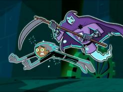 S02M02 Clockwork attacking frozen Danny
