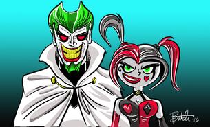 Crossover - DP villains as DC villains
