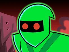 S01e09 ninja Bertrand scared