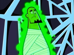 S01e13 Mr. Lancer glowing green