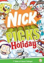 Nick Picks Holiday DVD cover
