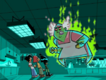 S01e01 Lunch Lady on fire