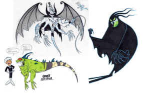 CA for Shadow, Ghost Freakshow, and Ghost Iguana