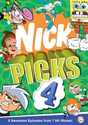 Nick Picks Volume 4 DVD cover