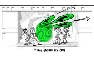 Short1 SB three ghosts fly out