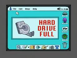 S02e06 hard drive full