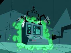 S01e14 genetic lock machine glowing