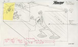 S01e09 SB page 96A - Danny flies in