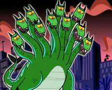 S03e08 Hydra looks taken aback