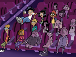 S02e06 inside the movie theater