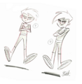 Danny concept poses 2001.png