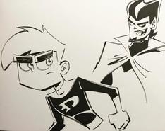 Danny Vlad drawing
