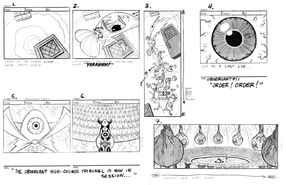 S03e04 Torrent of terror storyboard page1