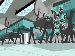 S02e02 bugs in a classroom
