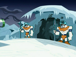 S03e02 Far Frozen cave