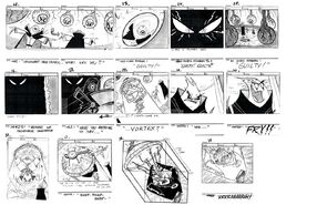 S03e04 Torrent of terror storyboard page3