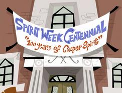 S01e09 Spirit Week banner