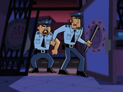 S01e20 cops at the door
