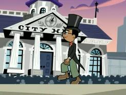 S03M04 Tucker walking across the stage