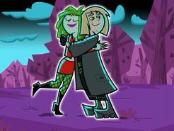 S01e16 Kitty and Johnny hug