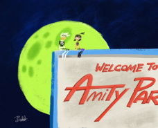 Welcome to Amity Park art