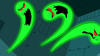 Short1 three escaped ghosts